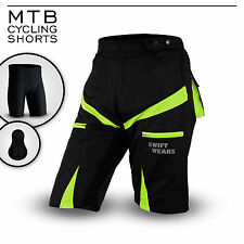 MTB Cycling Shorts,Cycle,Mountain Bike,Off Road,CoolMax Padded Inner Lycra Liner