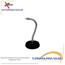 Xtreme Flexible Gooseneck Microphone Desk Stand 30cm High with Solid Base