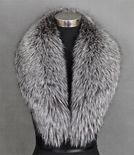 Genuine fox fur collar / wrap /scarf Silver Fox new style women's collar #43