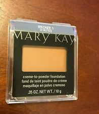 1 PACK - Mary Kay Cream to Powder Foundation, older plastic case, CHOOSE SHADE