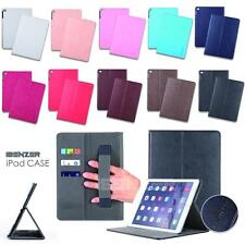 iPad Air 2 /iPad 6 Case PU-Leather Cover Wallet Design Flip Case Cover & Stylus
