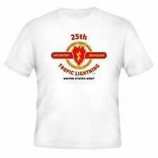 25TH INFANTRY DIVISION & OPERATION IRAQI FREEDOM VETERAN UNIT 2-SIDED SHIRT