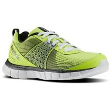 New Reebok Z Dual Rush Junior Yellow Cushioned Sports Running Shoes Trainers