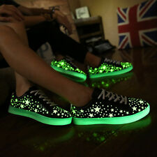 Hot Unisex Led shoes star fluorescent light skate shoes glowing  casual shoes
