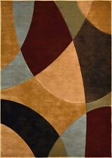 RUGS AREA RUGS CARPET NEW AREA RUG DECOR MODERN ABSTRACT MULTI COLORED RUGS