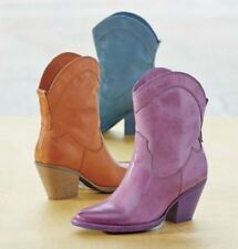 Mojo Moxy Nightrider Ankle Boot Bootie  orange new in box retail $159