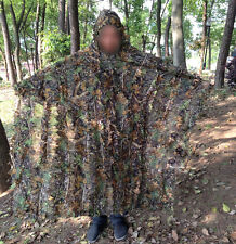 Military Ghillie Suit Airsoft Sniper Camo Camouflage Hunting Bionic Robe Gown