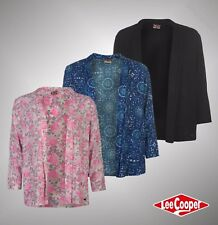 Ladies Designer Lee Cooper Stylish Lightweight 3/4 Sleeves AOP Blazer Size 8-18