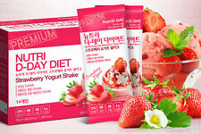 NUTRI D-DAY Strawberry Yogurt DIET Shake Weight Loss Nutritional Balanced Diet