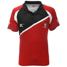 Gloucester Rugby Stirling Polo Shirt (Red/Black)