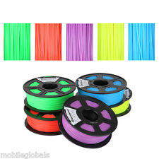 3D printer Filament 1.75mm/3.00mm ABS PLA for RepRap MarkerBot Huxley 1kg/2.2lbs