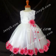 #MFF7 Baby Girls Christening Communion Birthday Pageant Party Prom Gown Dress