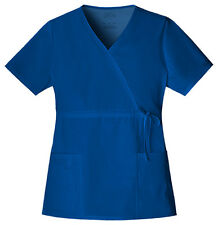 Galaxy Cherokee Workwear Mock Wrap Scrub Top 4748 GABW