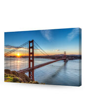 Golden Gate Bridge, San Francisco, Califonia. Giclee Canvas Prints