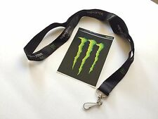 Monster Energy Drink Lanyard and Sitcker