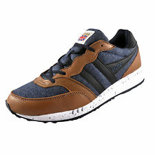 Gola Classics Mens Samurai Retro Classic Casual Trainers Navy *AUTHENTIC*