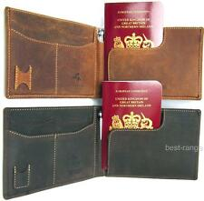 RFID Protect Passport Holder Real Leather Wallet Visconti New in Gift Box 726