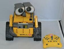 Disney Pixar U Command Wall E w/ Remote Control Toy Thinkway for repair or parts