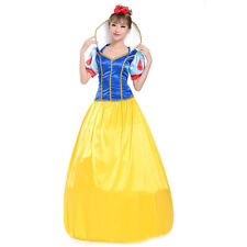 Halloween Snow White Princess Cosplay Party Xmas Party Costume Fancy Dress Adult