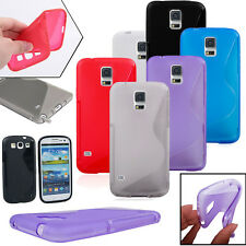 Compact Ultra Slim Pure Color Soft TPU Gel Back Cover Case for Samsung Galaxy