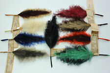 Vintage Feather Millinery Hat Trim Germany 3485 fancy