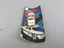 Aurora afx overheads fire chief F,D-11 still sealed from 1980's free shipping