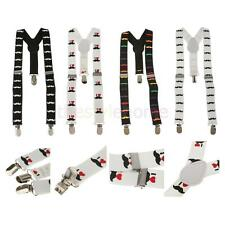 Boy Girl Kid Elastic Adjustable Suspender Clip-on Cute Mustache Y-shape Braces