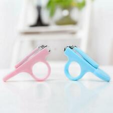 1x Baby Toddler Nail Clippers Scissors Cutters Safety Finger Manicure Trimmer