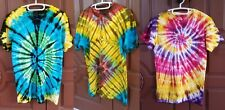 Cotton T-Shirt Hippie Gypsy Festival Dress Summer Tie Dye Blouse Handmade