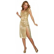 Disco Costume Adult 70s Diva Dress Halloween Fancy Dress