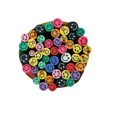 50PCS DIY 3D Nail Art Fimo Canes Stick Rod Polymer Clay Stickers Tips EY