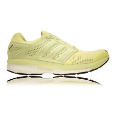 Adidas Supernova Glide Boost 7 Womens Yellow Green Sneakers Running Shoes