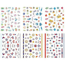 1X  Sheet Nail Art Water Transfers Stickers Decals Flamingo Design Decoration WR
