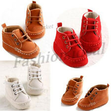 Newborn Baby casual shoes Infant Toddler walking  soft sole shoes prewalker #QXS