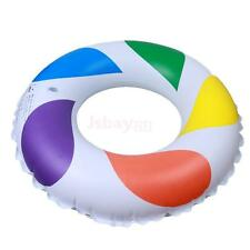Inflatable Children Adult Swim Swimming Ring Float Pool Beach