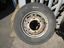 MERCEDES SPRINTER TWIN WHEEL AND TYRE 205-75R-16C 2006 - 2013