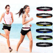 1PC Water Resistant Sports Travel Fitness Running Elastic Waist Belt Bag Pouch