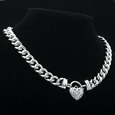 Euro Rhodium Layered Lobster Euro Chain Necklaces