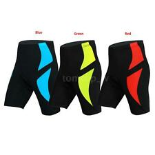 Men's Cycling Shorts 3D Padded Biking Bicycle Bike MTB Short Pants Tights 3W