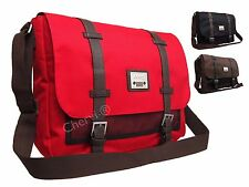 High Quality Mens Womens Jeep Canvas School Work College Satchel Messenger Bag
