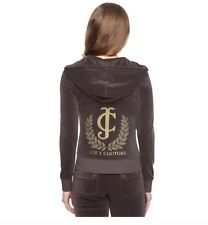 Juicy Couture Velour Tracksuit Jacket Size S RRP £120 BNWT MUST SEE!