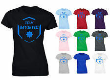 Team Mystic Pokemon Go Inspired Womens T-Shirt NEW