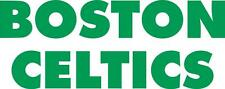 Boston Celtics cornhole board decal 1 set (2 decals)