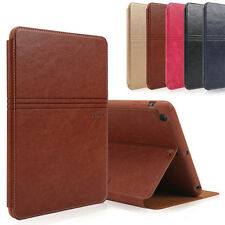Luxury Gebei Smart Slim Leather Stand Card Protective Case Cover For iPad Series