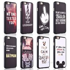 Cute Funny Joke Quote Hard Back Case Skin Cover For Apple iphone SE 5s 5c 5 4 4s