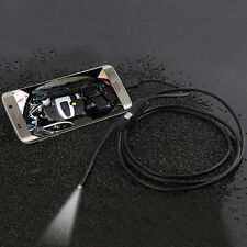 7mm Android Phone Endoscope IP67 Inspection Borescope HD LED Camera video
