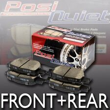 [Front+Rear]Posi Quiet Ceramic Performance Brake Pads fits Most Toyota Models