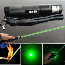 Powerful 5mw Green Laser Pointer Pen Adjustable Focus 532nm Lazer  Beam US Stock
