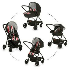 New Hauck London Rainbow Black All in One Travel System 3in1 Pram Buggy SET