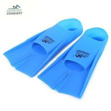 Snorkeling Silicone Swimming Diving Flippers Fins Paddle Adults Paired